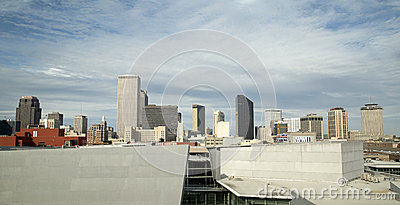 Skyline of New Orleans Editorial Photo
