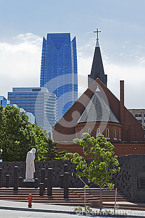 Skyline of Oklahoma City