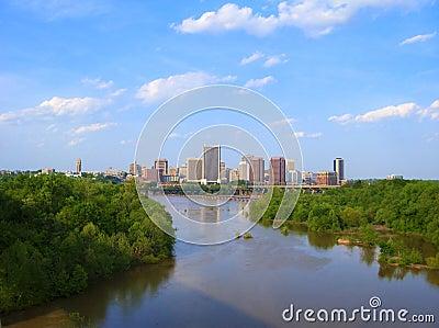 Skyline of Richmond, VA