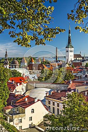 Skyline Tallinns Estland
