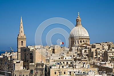 Skyline, Valletta, Malta