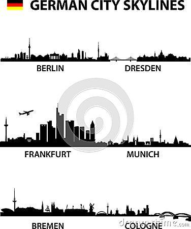 Free Skylines Germany Stock Photography - 18079502