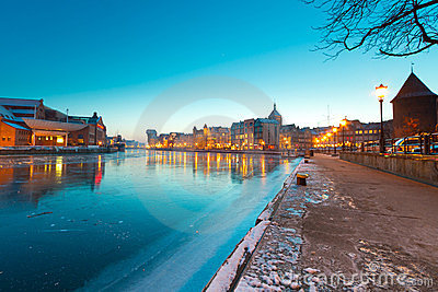 Skymning gdansk