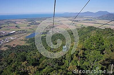 Skyrail Rainforest Cableway in Australia