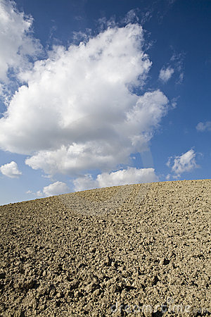 Skyscape with ground