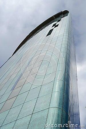 Skyscaper in downtown Birmingham