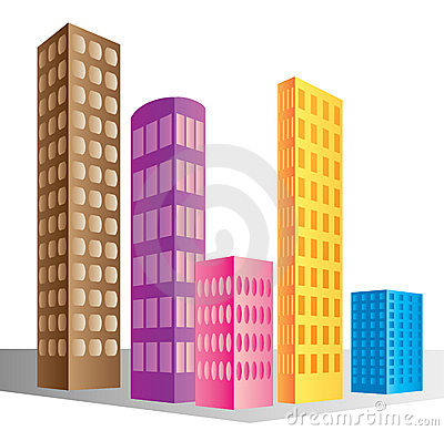 Skyscraper buildings