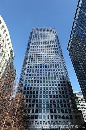 Free Skyscraper Buildings In Canary Wharf London UK Royalty Free Stock Image - 19694556
