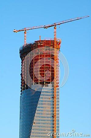 Free Skyscraper Construction Stock Photography - 1853802