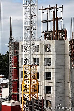 Free Skyscraper Construction Royalty Free Stock Image - 9220866