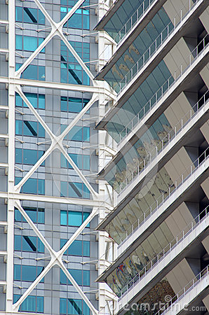 Free Skyscraper Facade - Modern Architecture Detail Stock Photography - 41759222