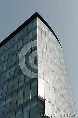 Skyscraper in Glasgow financial district