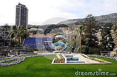 Skyscraper  of Monaco Editorial Stock Photo