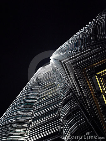 Skyscraper at night