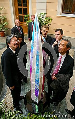 Skyscraper Ohta-Center Editorial Stock Image
