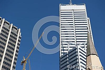 Skyscraper Perth Business District