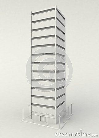 Skyscraper Stand, White