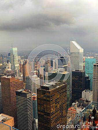 Skyscrapers Editorial Stock Image