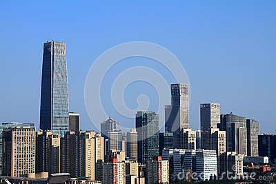 Skyscrapers of Beijing