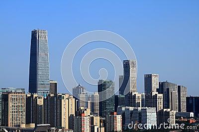 Skyscrapers of Beijing
