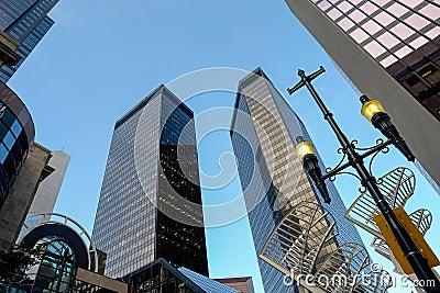 Skyscrapers in Calgary, Canada