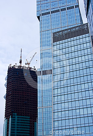 Skyscrapers construction