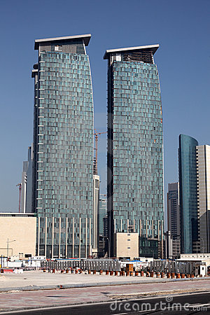 Skyscrapers in Doha, Qatar