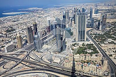 Skyscrapers in Dubai. UAE.