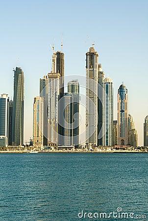 Skyscrapers, Dubai, United Arab