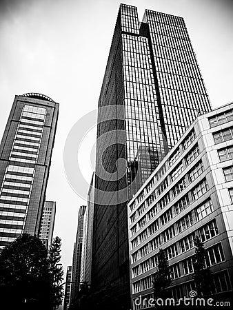 Free Skyscrapers In Tokyo Stock Image - 34582701