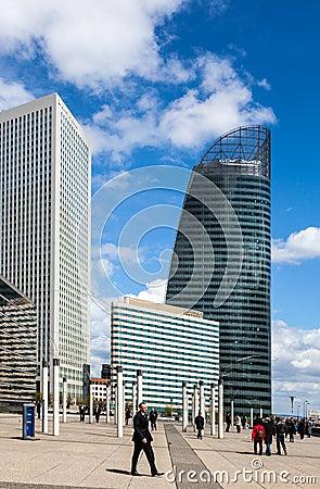 Skyscrapers in La Defense Editorial Image