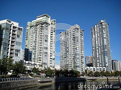 Skyscrapers in Vancouver