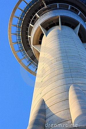Skytower Towering, Auckland, New Zealand