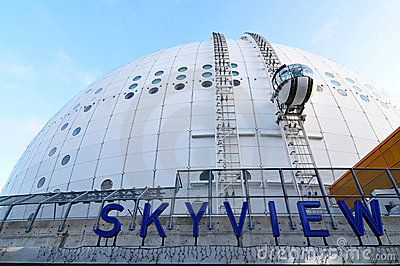 Skyview, Stockholm Editorial Stock Photo