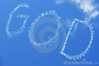 Skywritten God