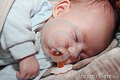 Slaap met een fopspeen