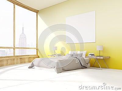 https://thumbs.dreamstime.com/x/slaapkamer-met-gele-muren-new-york-79644743.jpg