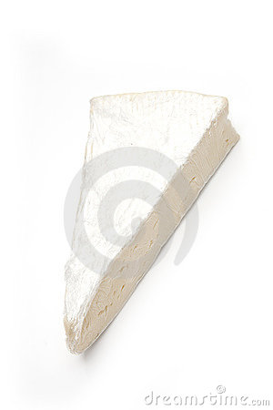 Slab of Brie cheese