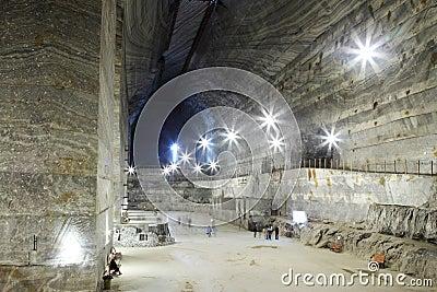 Slanic salt mine - Unirea