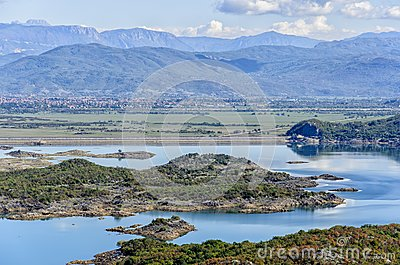 Slansko lake, Montenegro