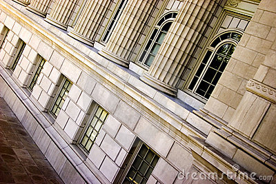 Slanted Pillars Missouri State Capital