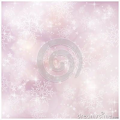 Slapp och oskarp vinter julmodell