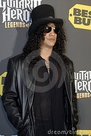 Slash on the red carpet Editorial Photo