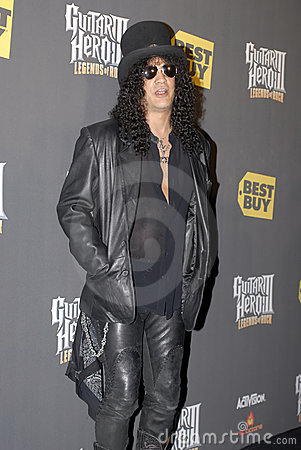 Slash on the red carpet Editorial Stock Image