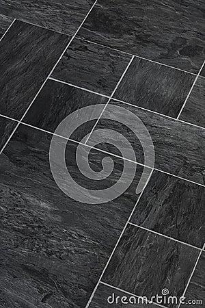Slate stone textured flooring