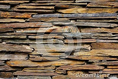 Slate Stone wall  texture