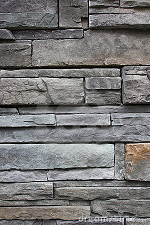 Slate stone wall textured background