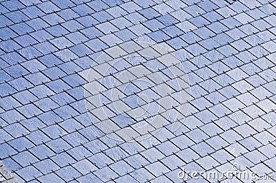 Slated rooftop