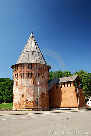 Slavic medieval tower
