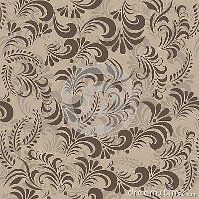 Slavic traditional swirls in vector